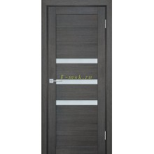 Дверь ТЕХНО-709 Грей  белый сатинат со стеклом (Товар № ZF114821)
