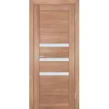 Дверь ТЕХНО-709 Миндаль  белый сатинат со стеклом (Товар № ZF114823)