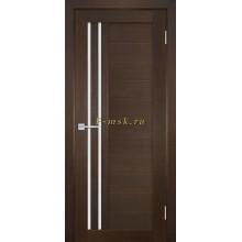 Дверь ТЕХНО-738 Венге  белый сатинат со стеклом (Товар № ZF114829)