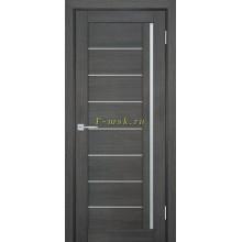 Дверь ТЕХНО-741 Грей  белый сатинат со стеклом (Товар № ZF114840)