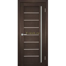 Дверь ТЕХНО-741 Венге  белый сатинат со стеклом (Товар № ZF114839)
