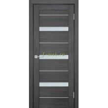 Дверь ТЕХНО-742 Грей  белый сатинат со стеклом (Товар № ZF114845)