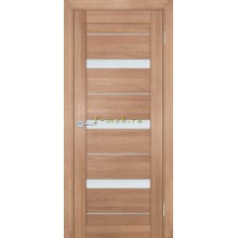 Дверь ТЕХНО-742 Миндаль  белый сатинат со стеклом (Товар № ZF114847)