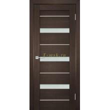 Дверь ТЕХНО-742 Венге  белый сатинат со стеклом (Товар № ZF114844)