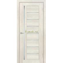 Дверь ТЕХНО-801 Бьянко  белый сатинат со стеклом (Товар № ZF114850)