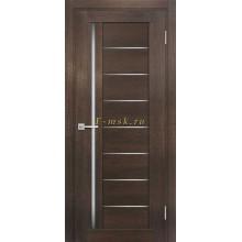 Дверь ТЕХНО-801 Фреско  белый сатинат со стеклом (Товар № ZF114852)