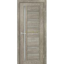Дверь ТЕХНО-801 Гриджио  белый сатинат со стеклом (Товар № ZF114851)