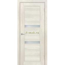 Дверь ТЕХНО-802 Бьянко  белый сатинат, белый лакобель со стеклом (Товар № ZF114855)