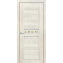 Дверь ТЕХНО-805 Бьянко  белый сатинат, белый лакобель со стеклом (Товар № ZF114870)