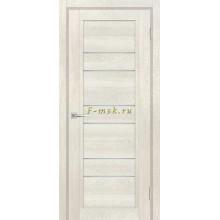 Дверь ТЕХНО-806 Бьянко  белый сатинат со стеклом (Товар № ZF114875)