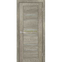 Дверь ТЕХНО-806 Гриджио  белый сатинат со стеклом (Товар № ZF114876)