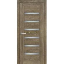 Дверь ТЕХНО-807 Бруно  белый сатинат со стеклом (Товар № ZF114879)