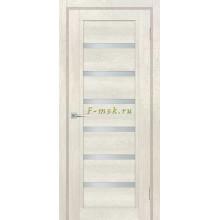 Дверь ТЕХНО-807 Бьянко  белый сатинат со стеклом (Товар № ZF114880)