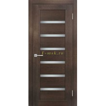 Дверь ТЕХНО-807 Фреско  белый сатинат со стеклом (Товар № ZF114882)