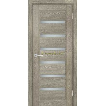 Дверь ТЕХНО-807 Гриджио  белый сатинат со стеклом (Товар № ZF114881)