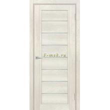 Дверь ТЕХНО-808 Бьянко  белый сатинат со стеклом (Товар № ZF114885)