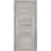 Дверь ТЕХНО-808 Чиаро гриджио  белый сатинат со стеклом (Товар № ZF114888)