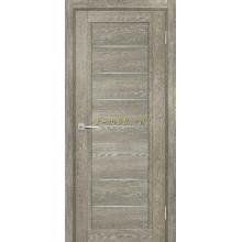 Дверь ТЕХНО-808 Гриджио  белый сатинат со стеклом (Товар № ZF114886)