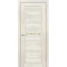 Дверь ТЕХНО-809 Бьянко  белый лакобель со стеклом (Товар № ZF114890)