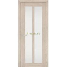 Дверь PS-22 Капучино Мелинга  белый сатинат со стеклом (Товар № ZF114213)