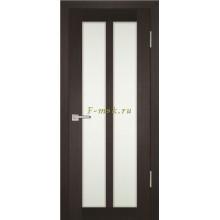 Дверь PS-22 Венге Мелинга  белый сатинат со стеклом (Товар № ZF114212)