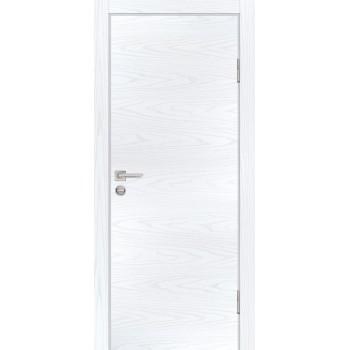 Дверь P-1 Дуб скай белый  Экошпон глухое