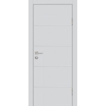Дверь P-12 Агат  Экошпон глухое