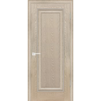 Дверь PSB-26 Дуб Гарвард бежевый  Экошпон глухое