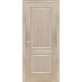 Дверь PSB-28 Дуб Гарвард бежевый  Экошпон глухое