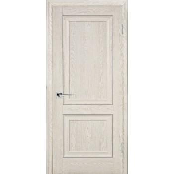 Дверь PSB-28 Дуб Гарвард кремовый  Экошпон глухое