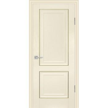 Дверь PSB-28 Ваниль  Экошпон глухое