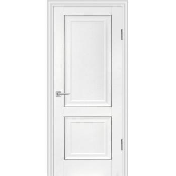 Дверь PSB-28 Пломбир  Экошпон глухое