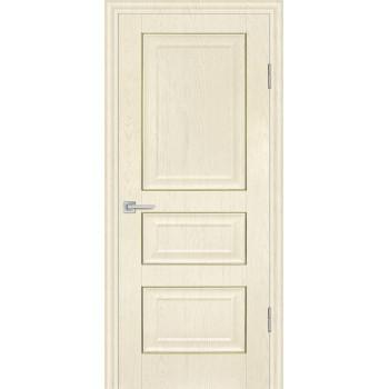 Дверь PSB-30 Ваниль  Экошпон глухое