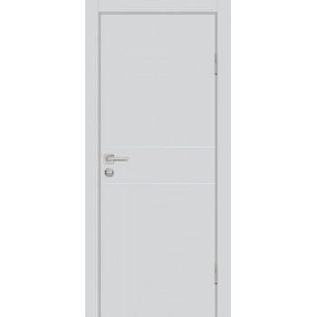Дверь P-15 Агат  Экошпон глухое