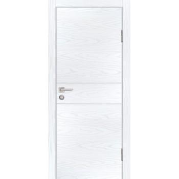 Дверь P-15 Дуб скай белый  Экошпон глухое