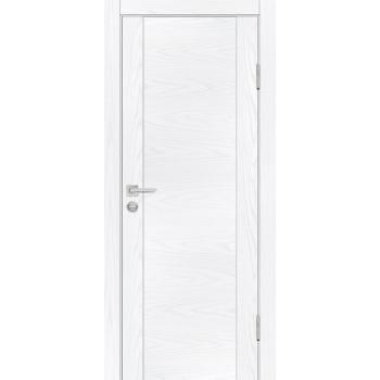 Дверь PSM-1 Дуб скай белый  Экошпон глухое