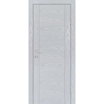 Дверь PSM-1 Дуб скай серый  Экошпон глухое