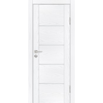 Дверь PSM-2 Дуб скай белый  Экошпон глухое