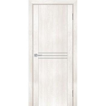 Дверь PSN-13 Бьянко антико  nanoflex глухое