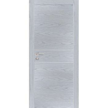 Дверь PX-15 Дуб скай серый  Экошпон глухое