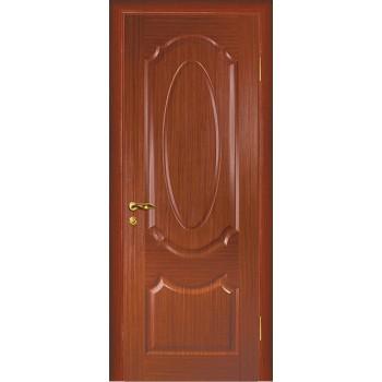 Дверь Ариана Красное дерево  Шпон глухое