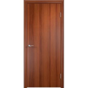 Дверь ДПГ Итальянский орех  Финиш-пленка глухое