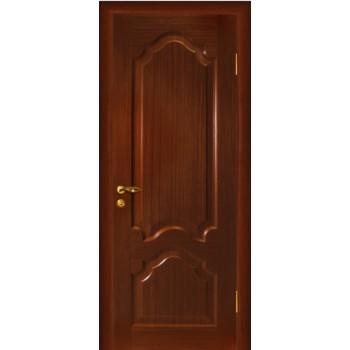 Дверь Кардинал Темный орех  Шпон глухое