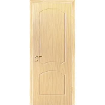 Дверь Лидия Беленый дуб (Береза)  PVC глухое