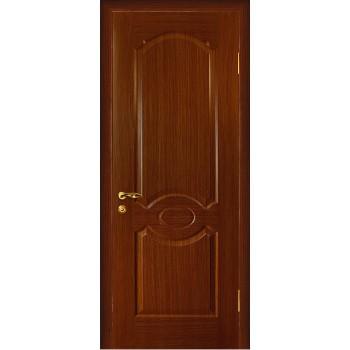 Дверь Милано Темный орех  Шпон глухое