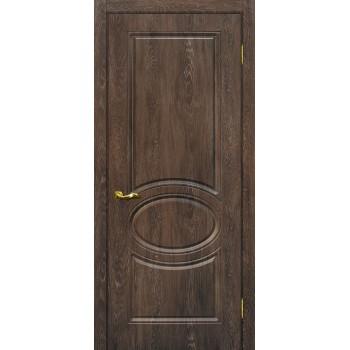 Дверь Сиена-1 Дуб корица  PVC глухое