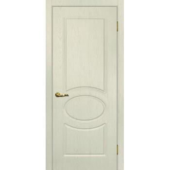 Дверь Сиена-1 Ваниль  PVC глухое