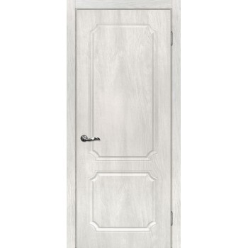 Дверь Сиена-4 Дуб жемчужный  PVC глухое