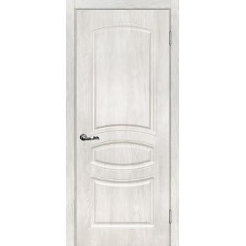 Дверь Сиена-5 Дуб жемчужный  PVC глухое