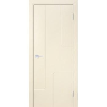 Дверь Смальта-Лайн 01 Айвори ral 1013  Эмаль глухое